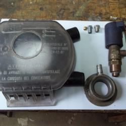 Части за газова уредба клапан Brc river, кутия нивомер, газов фланец з