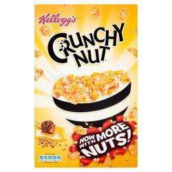 Kellogg s Crunchy Nuts Келогс Крънчи Нът Хрупкава Зърнена Закуска 840г
