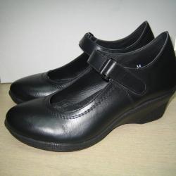 Дамски обувки м. 265 естествена кожа
