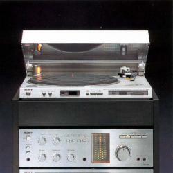 Sony Аудио система  -  дек, усилвател, тунер, грамофон, timer, remote