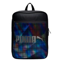 Раница Puma Campus Backpack Черно Синьо Сиво