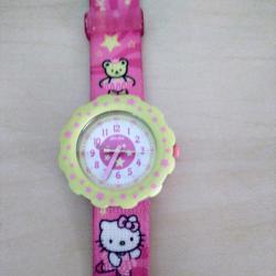 Детски часовник Flik Flak  Swatch  Hello Kitty