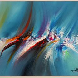 Абстрактна картина F25