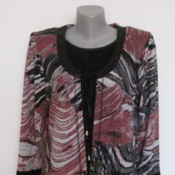 Нова блуза меланж