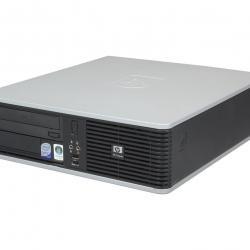 Марков компактен компютър HP, Intel Core2duo, 2gb ram, 160gb hard, DVD