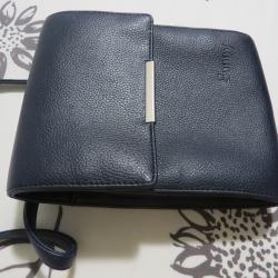 Дамска чанта, за през рамо, тъмно синя Sunny