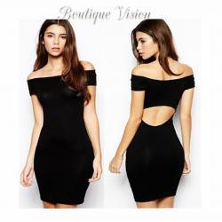 Ново Елегантна рокля, наличен размер С