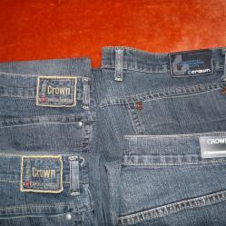 Мъжки дънки марка Crown W36 L34