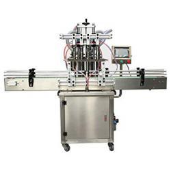 Автоматична пълначна машина с 4 глави 500мл-1000мл