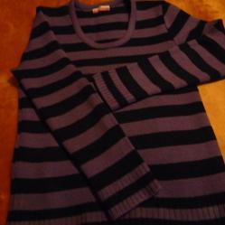 Дамска блуза с дълъг ръкав пуловер М L