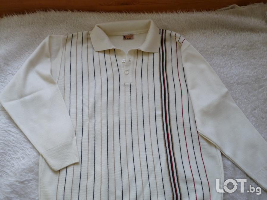Мъжка блуза с дълъг ръкав  -  р  -  р L