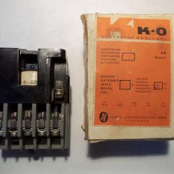 Контактор контактори термична защита защити трифазни щепсели звънчев б