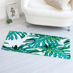 2335 Постелка килимче за под пътека Тропик, 45x120cm
