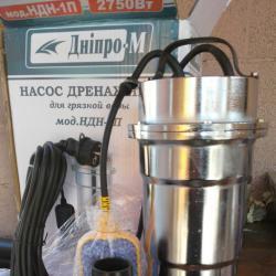 Дренажна помпа за мръсна вода. потопяема помпа