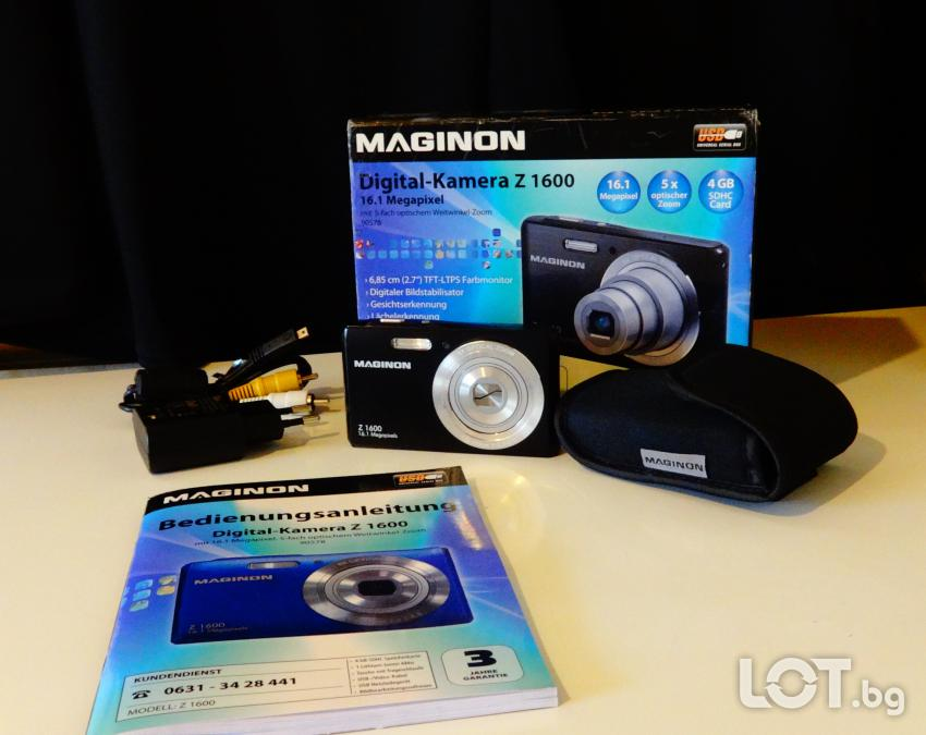 Нов немски фотоапарат Maginon 16,1 Megapixel.