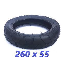 Външни и вътрешни гуми за детски триколки 260 x 55