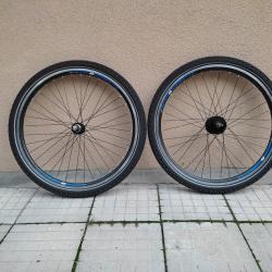 Продавам колела внос от Германия алуминиеви капли и гуми R Rixe R 26 ц