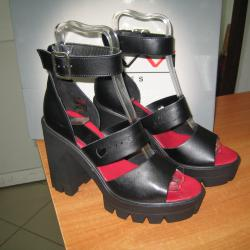 Дамски сандали естествена Кожа,,navvi,,м. 815