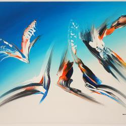 Абстрактна картина F9