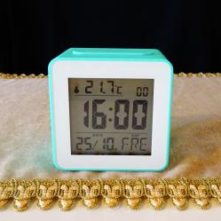 TCM Tchibo настолен часовник с аларма, нов.