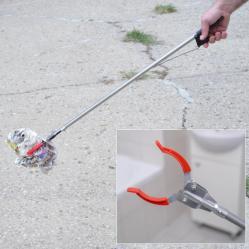 2272 Метална щипка за отпадъци хващач помощна щипка за боклук