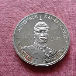 Невероятен немски медал с каизер Вилхелм II