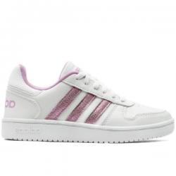 Намаление  Спортни обувки Adidas Hoops Бяло