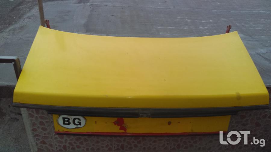 Капак за багажника на Джета 2