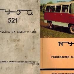 Ниса 521 Ниса 522 техническа документация на диск CD