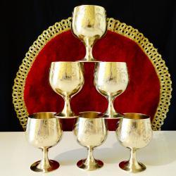 Английски чаши никелово сребро за ракия, коняк.