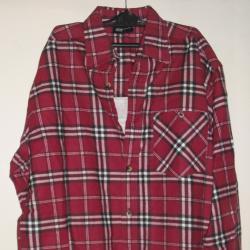Маркова риза тъмно синьо червено каре