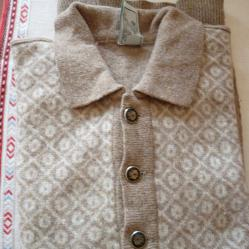 Мъжки комплект  -  пуловер и жилетка