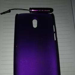 Нов лилав кейс за HTC Desire 500