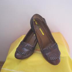 Италиански обувки естествена кожа