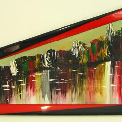 Абстрактни картини Dystre klipper Мрачни скали