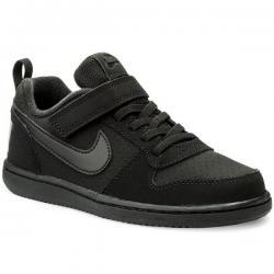 Намаление Детски спортни обувки Nike Court Borough Черно