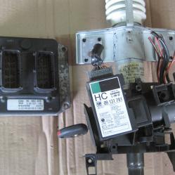 Компютър с контактен ключ 90560476 5wk9160 Opel 09131781 5wk4767
