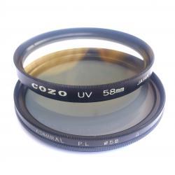 Фото филтри UV и P L - 2 броя
