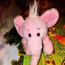 Плюшено розово слонче