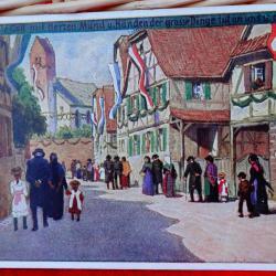 Стари пощенски картички 1918 - 1920 г.