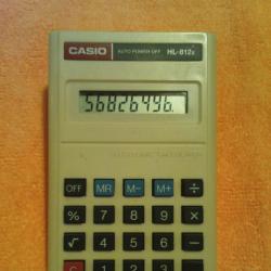Електронен калкулатор Casio HL - 812e, в мн. добро състояние