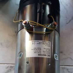 Електромотор 12в 3 киловата за мобилна хидравлика