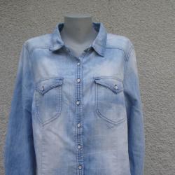 3XL Нова дънкова риза Xlnt