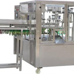 Автоматична машина за пълнене и затваряне на течности в дойпак