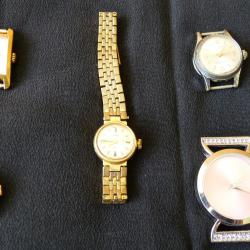 Лот от дамски часовници - механични и на батерия