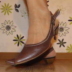 Дамски обувки Tamaris - номер 39, естествена кожа