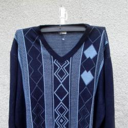 3XL нов мъжки пуловер
