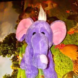 Лилаво слонче
