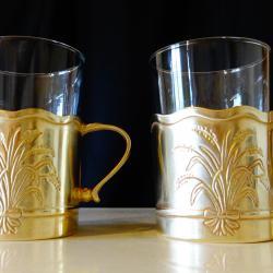 Западно Германски чаши от месинг, житен клас.
