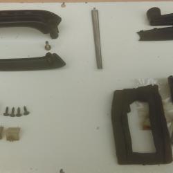 Части за вътрешното оборудване на задна дясна врата на Джета Голф 2